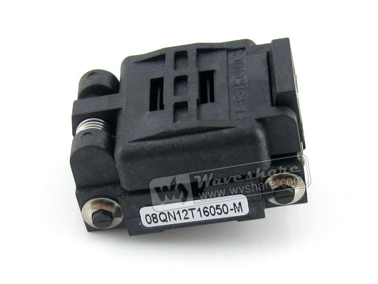 module 08QN12T16050 Plastronics IC Test Socket 1.27mm Pitch for QFN8, MLP8, MLF8 package skkt92 12 module
