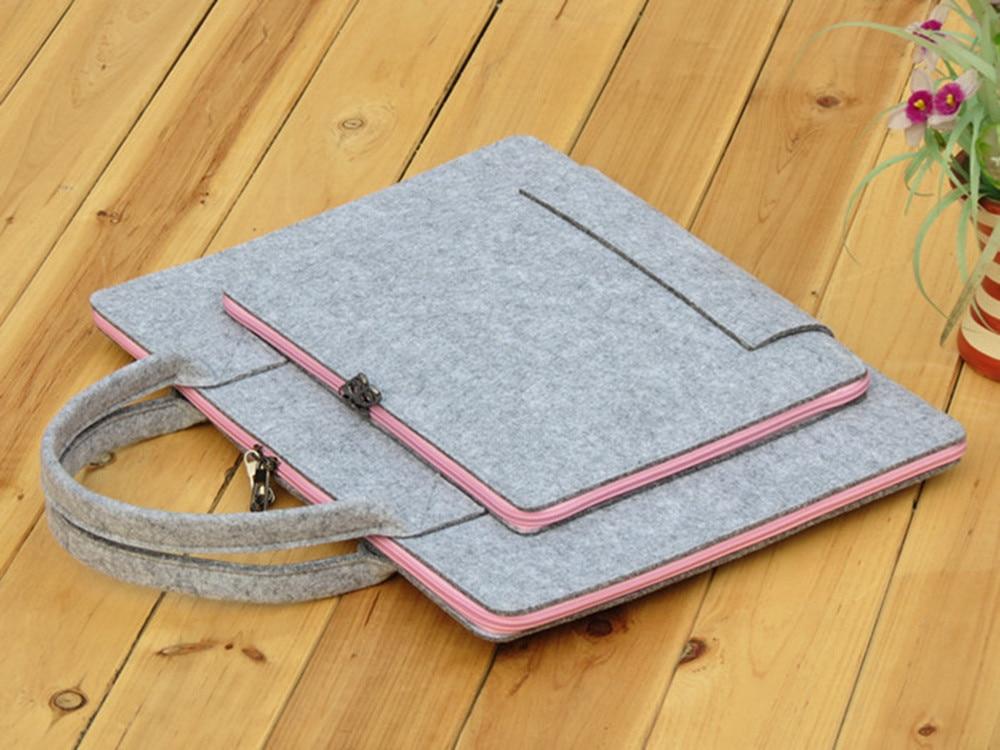 Gmilli Wool Felt Casual 17 16 15 12 11 inch Laptoptas Notebook - Notebook accessoires - Foto 5