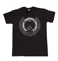 T Shirt Printing Crew Neck Against Modern Footballer Casuals Terrace Short Sleeve Printing Mens Shirt