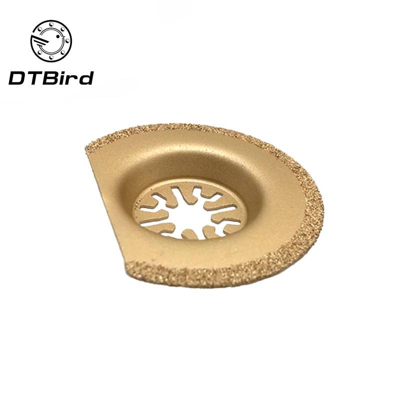 63mm Diamond Titanium Saw Blade Oscillating Multi Tool For Universal Treasure Machines Fein Bosch Dremel TCH Power Tool Home DIY