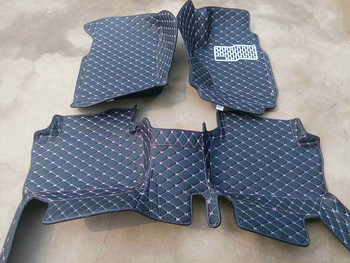 High quality! Custom special car floor mats for Right Hand Drive Isuzu D-MAX 2018-2012 waterproof durable carpets for D-MAX 2015