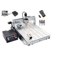 2200w USB Port 4 Axis Cnc Router Engraver 8060Z USB Engraving Drilling And Milling Machine With