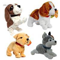 電子犬ロボット犬サウンド制御インタラクティブ電子ペット樹皮スタンド歩く電子玩具犬インタラクティブおもちゃ