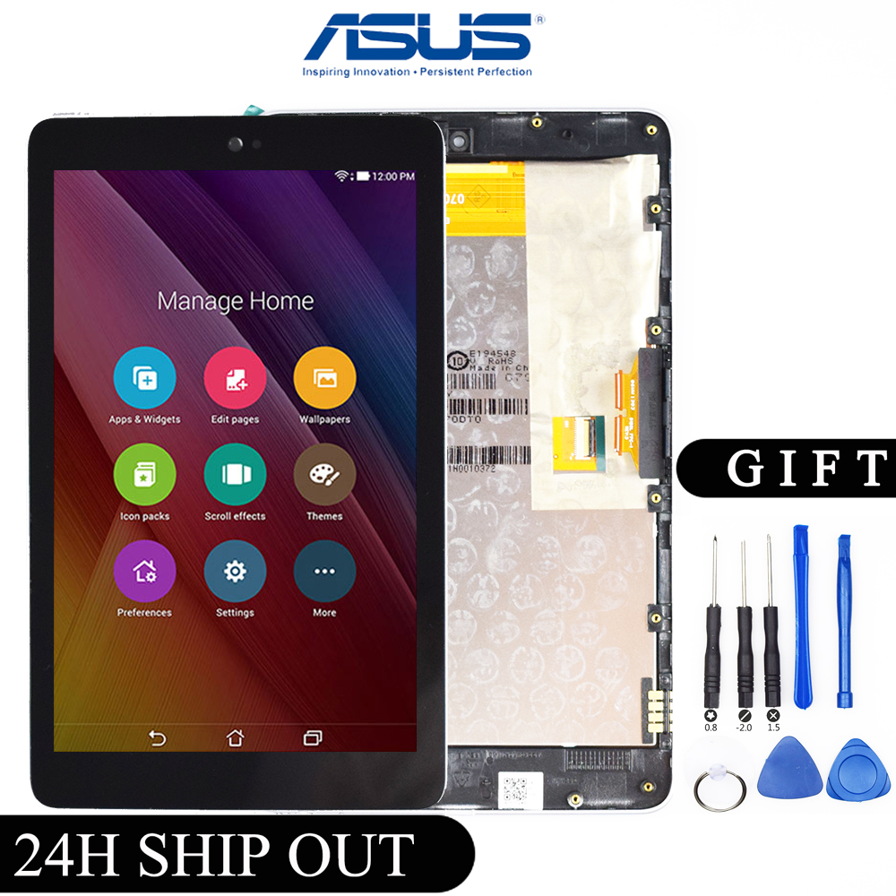 New 7'' For ASUS Google Nexus 7 1st ME370 ME370T ME370TG Nexus7c LCD Display + Touch Screen Full Assembly With Frame Replacement