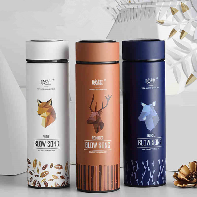 New Thermos Water Bottle Creative Design Thermal Thermo