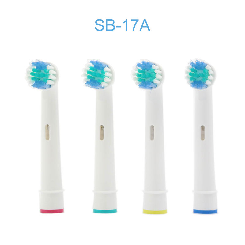 24 pcs Electric Tooth Brush Heads Replacement For Braun Oral B Soft Bristle,Vitality Dual Clean/Professional Care image