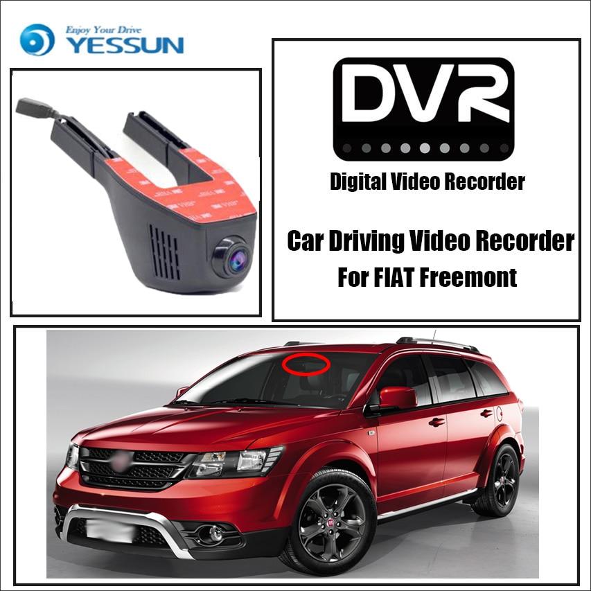 YESSUN Driving Video-Recorder Fiat Freemont Wifi Dvr Mini Camera Dash-Cam Night-Vision