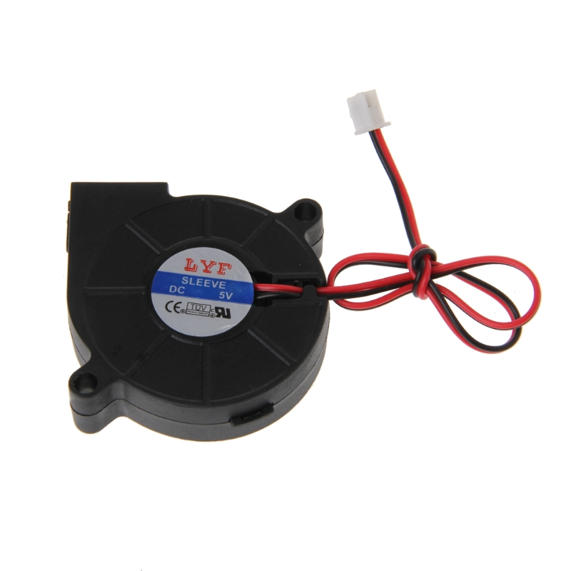 50mmx15mm DC 5V 2-Pin Computer PC Sleeve-Bearing Cooler Blower Cooling Fan 5015 gdstime 1 piece 2 wire cooling brushless exhuat blower cooling fan 120mm 2 pin 120x120x32mm dc 12v 12032 sleeve bearing