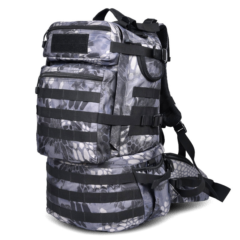 Outdoor Camouflage multi-functional backpack Military Tactical Assault Pack Army Molle Backpack Outdoor Hiking Camping Hunting 25l military tactical assault pack backpack molle ripstop nylon backpack outdoor hiking camping hiking backpack