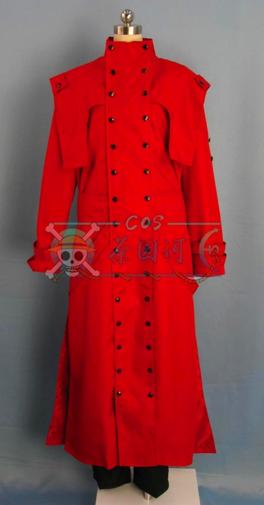 2016 New Arrival Trigun Vash the Stampede Cosplay Costume Outfit