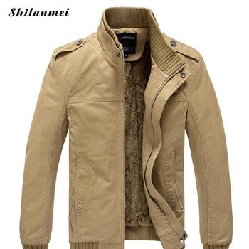 2018 Men Autumn Winter Plus Size Jackets And Coats Jaqueta Masculina Male Casual Fashion Slim Fitted Zipper Jackets Hombre 3xl