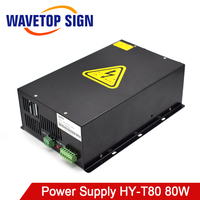 80W CO2 Laser Power Supply HY T80 Match With CO2 Laser Tube 80W for CO2 Laser Engraving Cutting Machine