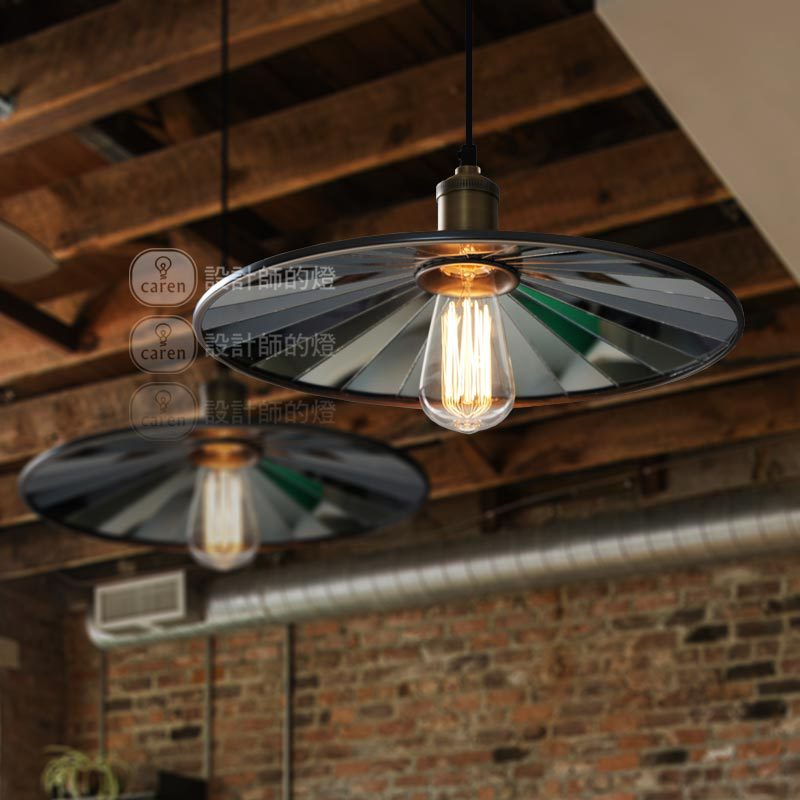 36CM  RH Loft  American rural industrial Europe Type Single Head Paste Mirror Droplight Cafe Bar Coffee Shop Hall Store Club vintage loft industrial edison ceiling glass ball lamp droplight pendant e27 bar cafe bar coffee shop hall store club bedside