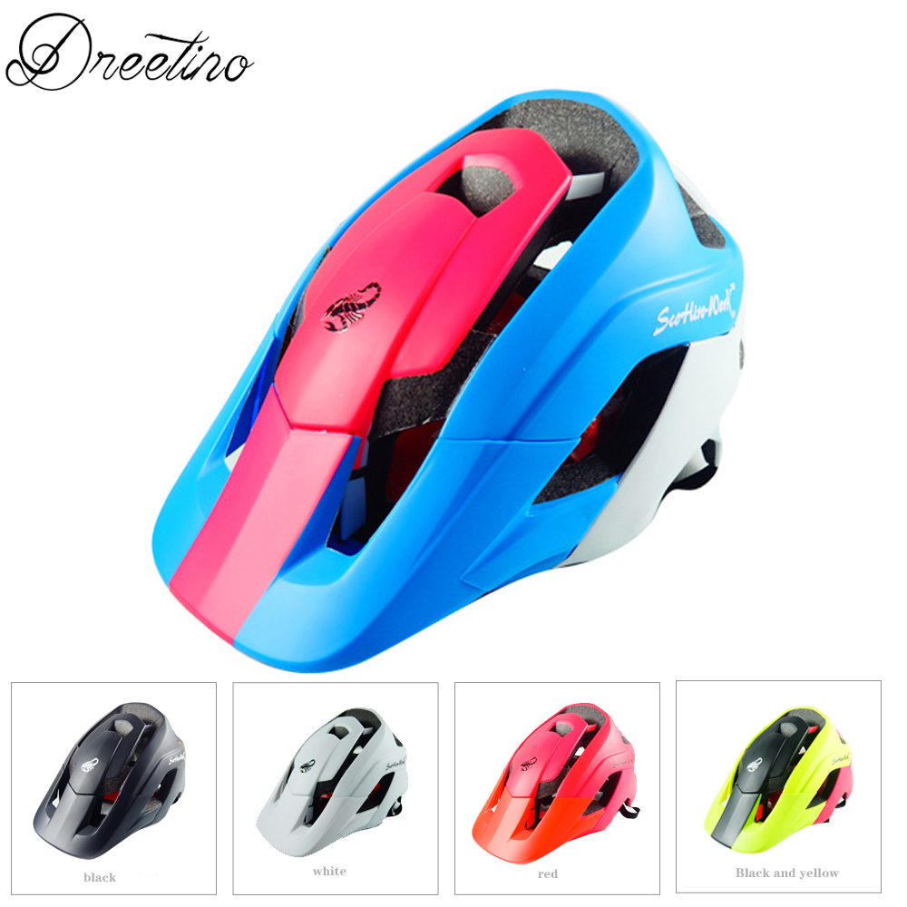 Cycling Helmet Ultralight Mountain Bike Helmet Deeper Coverage MTB Bicycle Helmet Superior Venting Cycling Helmet For Men Women men women cycling helmet eps ultralight mtb mountain bike helmet riding safety bicycle helmet