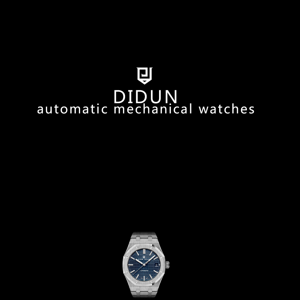DIDUN Mens Automatic Mechanical Watches Top Brand Luxury watches Men Steel Army Military Watches Male Business Wristwatch clock didun mens automatic mechanical watches top brand luxury watches men steel army military watches male business wristwatch clock