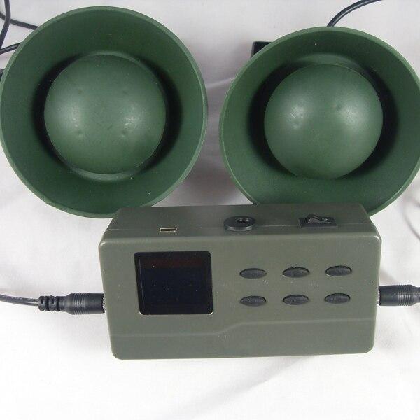 Outdoor 10W Hunting Bird Caller Loud Speaker Decoy Sound MP3 Player LCD Display
