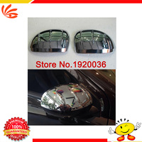 Car styling ABS Chrome Rear View Mirror Decoration Trim for COMPASS Side Mirror Cover Trim car accessories