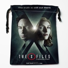 New Arrive The X-Files Drawstring Bags Custom Storage Bags Storage Printed gift bags More Size 27x35cm DIY your picture