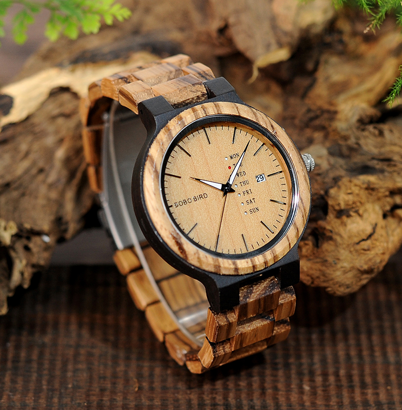 wood band wristwatches fashion bobo bird new gifts items (13)