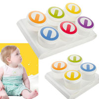 Food Containers Baby Durable Mini Weaning Freezing Pots Boxes Freezer Storage
