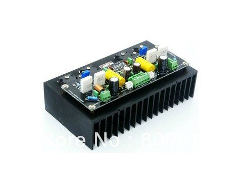 2016 NEW Hi-End LM4702+2SK1530+2SJ201 Stero Power amplifier board with heatsink