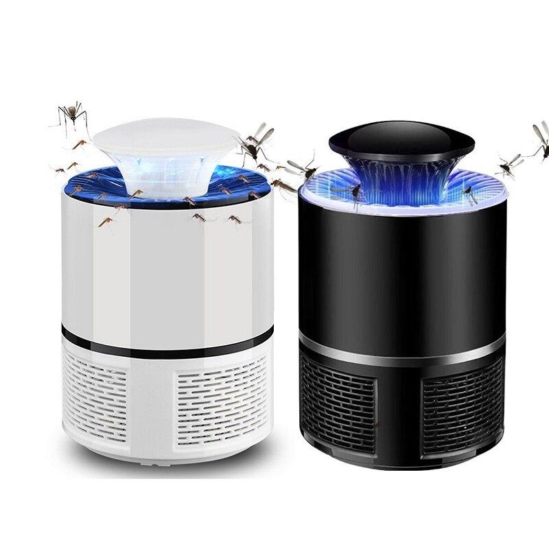 Dedicado 5 W Mosquito Eléctrico Usb Mosquito Mata Insectos Led Luz Trampa Lámpara Control De Plagas Brillo Brillante