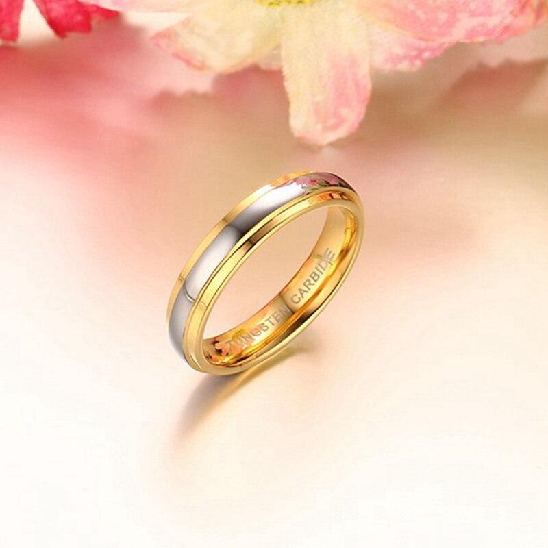 d8d2b85c488 Simple Couple Titanium Steel Wedding Rings women men s jewelry anniversary  marriage Best Fashion Gift