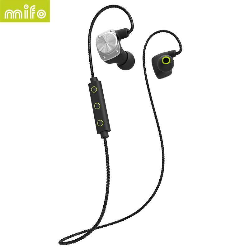 mifo U6 Newest Wireless Bluetooth Headphone Sport Headset Bluetooth Earphone Waterproof HiFi Stereo APT-X A2DP With mic