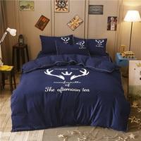 4 Pcs Bedding Set Nordic Style Bedroom Comforter Set Thickening Grinding Adult Kid Bedding Set Luxury Comforter Bedding Sets