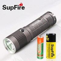 Supfire L5 CREE XM L T6 10 Watt Led Taschenlampe 1100 Lumen Led Licht Fackel durch 18650 Batterie-in LED-Taschenlampen aus Licht & Beleuchtung bei