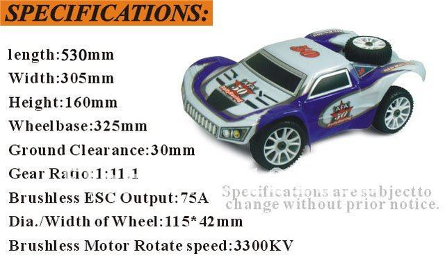 2014 New HSP 1 8 Scale RC Car Brushless 4WD Electric Powered Rally Monster Truck Toy RC Drift Car