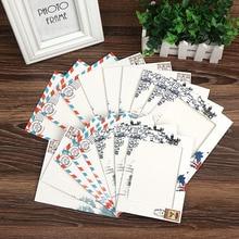 Photo Frame Retro DIY Kraft Paper Pictures Wall Postmark Baby Wedding Photo Hanging Album Combination Decor Porta Retrato