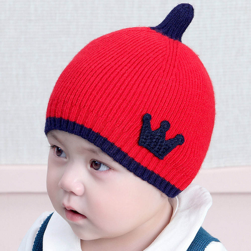 Unique Knitted Baby Crown Pattern Adornment - Sewing Pattern for ...