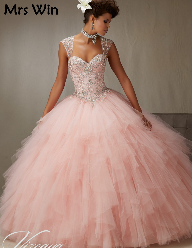 Popular Vintage Quinceanera Dresses-Buy Cheap Vintage Quinceanera ...