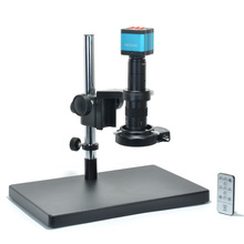 Buy online 14MP HDMI HD USB Digital Industry Video Microscope Camera Set+Big Stereo Table Stand +180X C-MOUNT Lens+144 LED Light