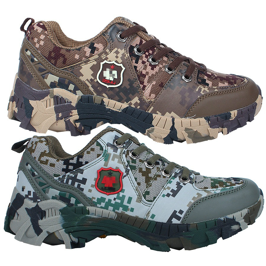 Men's Camouflage Tactical Shoes Men Outdoor Hiking Shoes Trekking Boots Man Climbing Mountaineering Adventure Men Army Shoes 2017 new military men s outdoor breathable hiking tactical boots men army combat trekking climbing shoes mountaineering boots