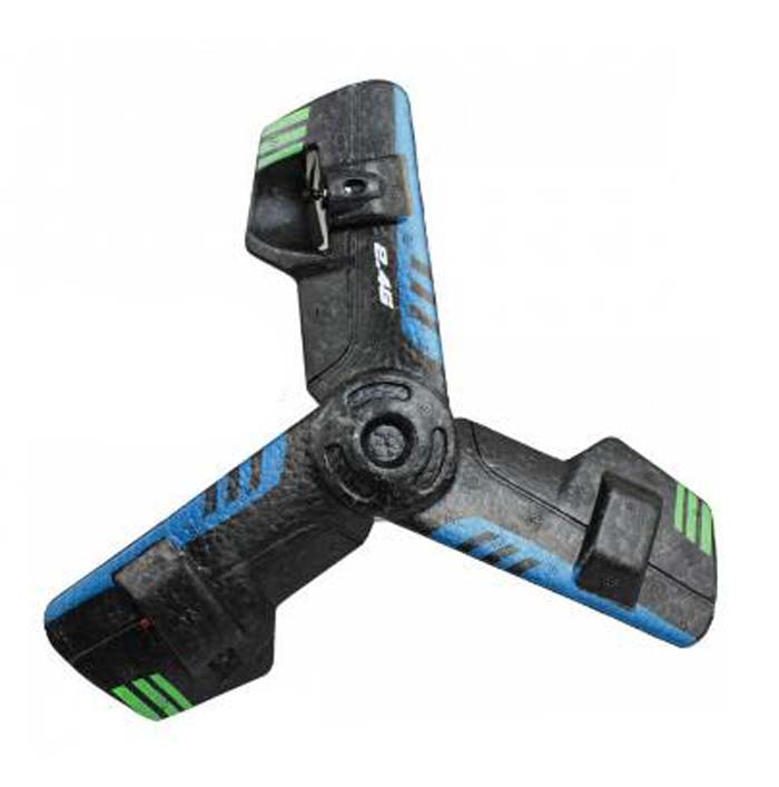 360 повернуть Дистанционное управление летающая тарелка НЛО Дарт игрушки-черный, синий
