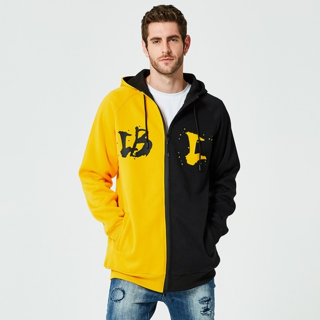 ASALI Hip Hop Hoodies Men  1