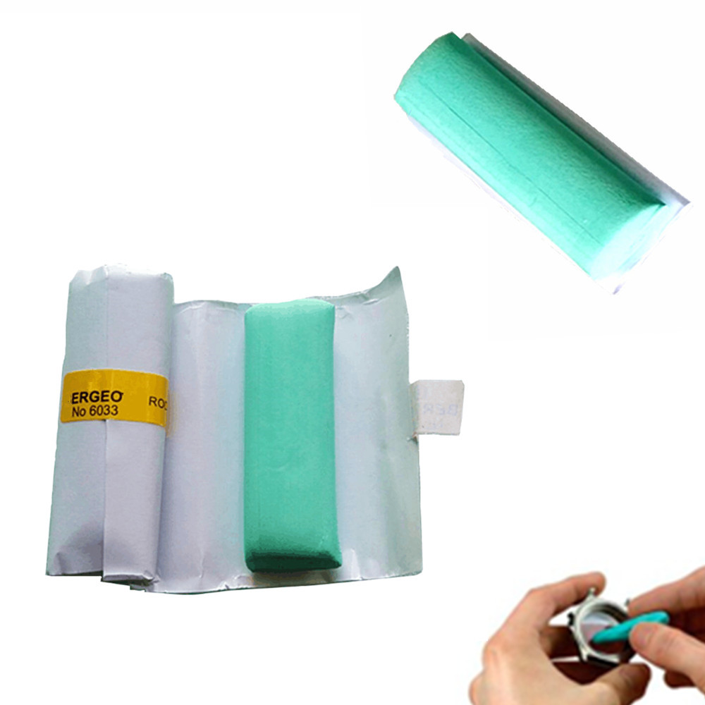 Free Shipping For Watchmakers Jewelers For Bergeon Rodico 6033 Cleaning Clay Touch Dry Cleaning Bar Removing Dirt Grease Green