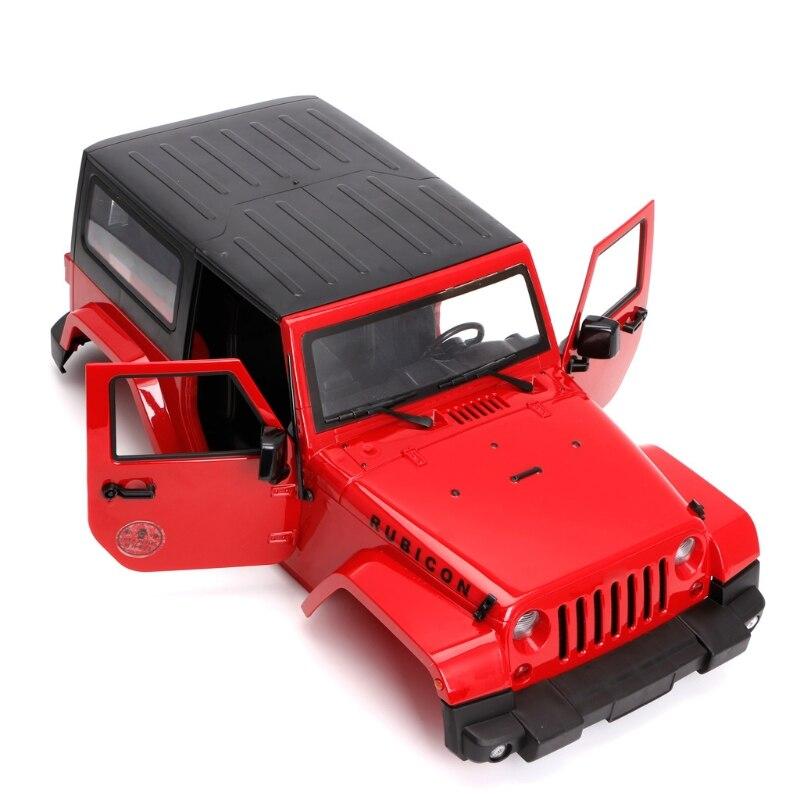 1/10 RC télécommande camion corps coquille auvent Rubicon pour SCX10/D90