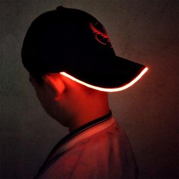 цена на 2018 New LED Light Pokemon Go Cap Hat Team Valor Team Instinct Pokemon Baseball Cap for Women Mens Fitted Hats Glow In The Dark