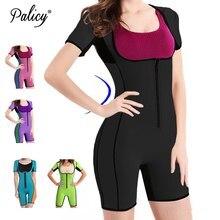 Фотография Palicy S-3XL Women Plus Size Neoprene Tank Top Sweat Sauna Full Body Shapers Modeling Strap Elastic Slim Vest Shapewear Bodysuit