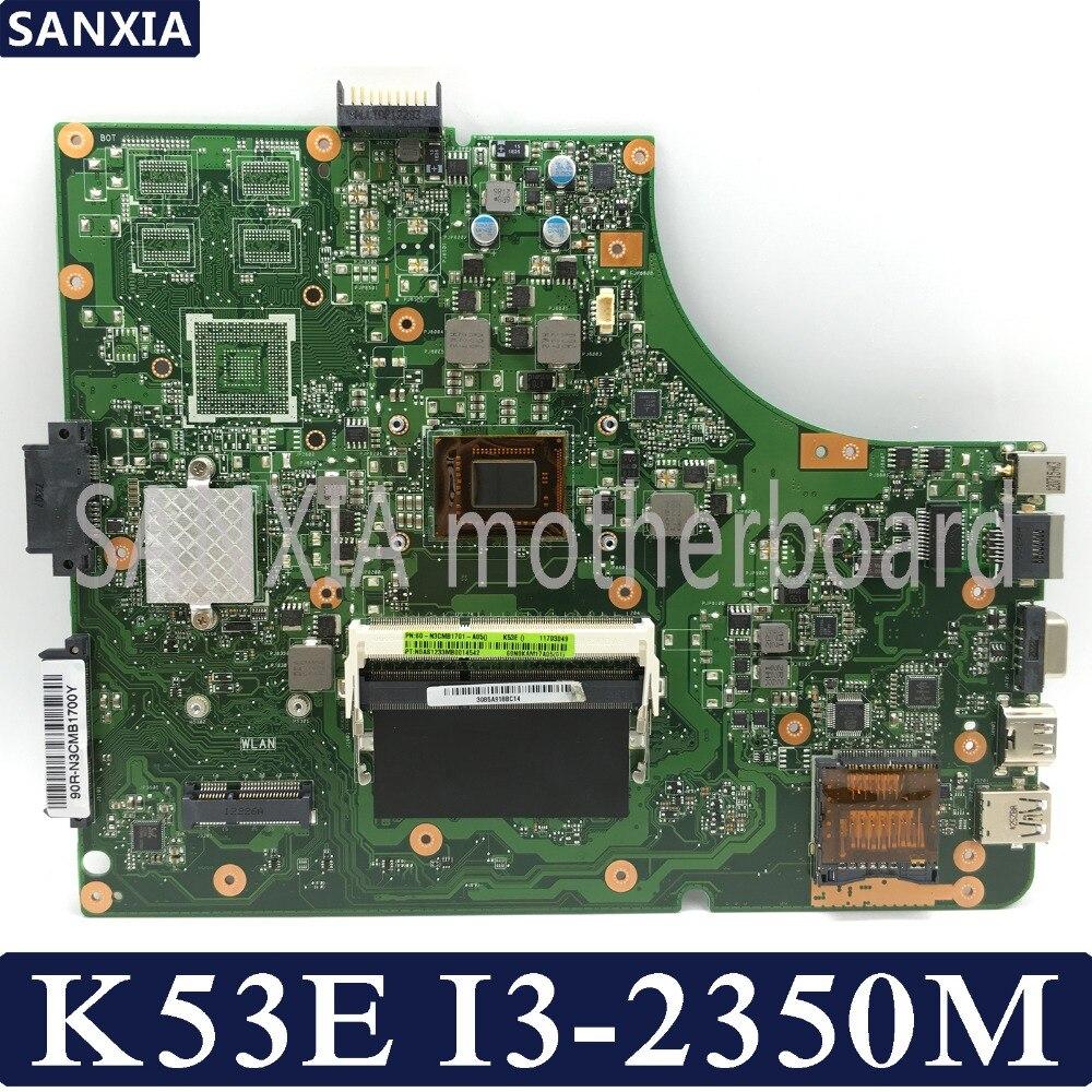 KEFU K53SD Laptop motherboard for ASUS K53E K53S K53 Test original mainboard I3 2350M