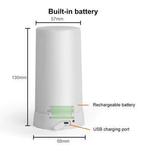 Image 5 - LED เปลวไฟผล Fire หลอดไฟกันน้ำกลางแจ้งในร่มริบหรี่ Emulation 3 โหมดแม่เหล็กเปลวไฟ LED USB ชาร์จ
