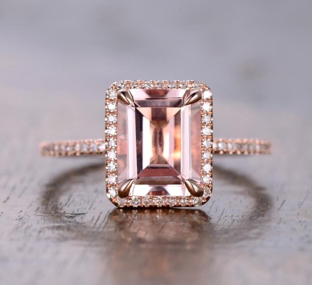 Huitan Luxury Anniversary Ring For Women Elegant Champagne Cubic Zircon Wedding Engagement Ring Simple Stylish Bridal Women Ring in Engagement Rings from Jewelry Accessories