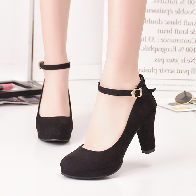 Spring Women Ankle Strap Pumps Super High Heels Shoes Ladies Dress Shoes Black Sexy Platform Shoes Party Shoe Zapatos Mujer 3449 full body u pillow