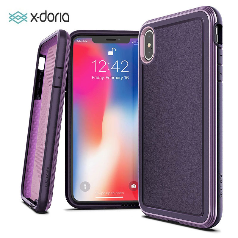X-Doria Defense Ultra Case For IPhone XR XS Max Military Grade Drop Tested Aluminum Case For IPhone X XS Max Protective Cover