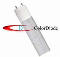 High bright cool white T8 LED Tube Light SMD2835 Wave Cover 120leds 2400LM AC85 265V 20W 1.2m /PF>97