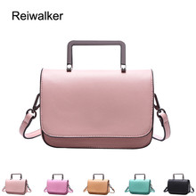 Reiwalker 2016 Female Famous Brand handbags PU Leather Top-Handle Bag Women Shoulder Flap Bags