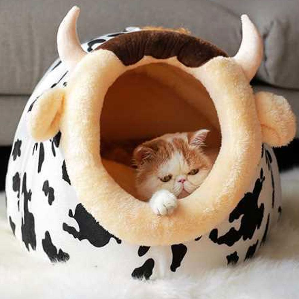 Soft Warm Pet Dog Bed House For Small Dogs Winter Warm Nest Pet Cat Small Dog Puppy Kennel Bed Sofa Sleeping Bag Dropshipping